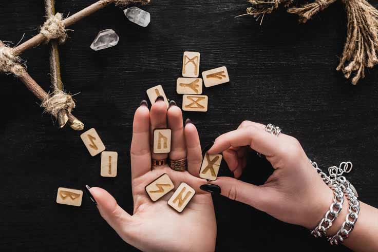 tirer les runes