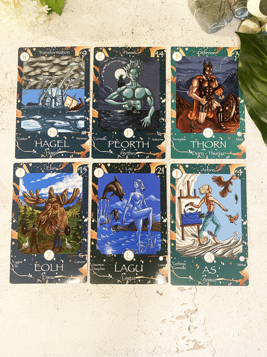 carte oracle des runes