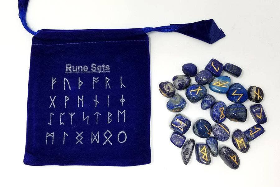 runes bleues